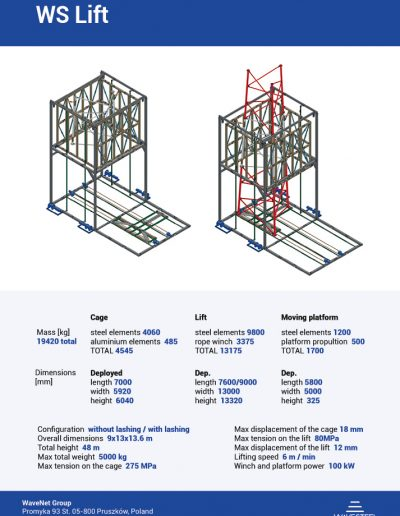 WS Lift by WaveSteel - page 2 | product card