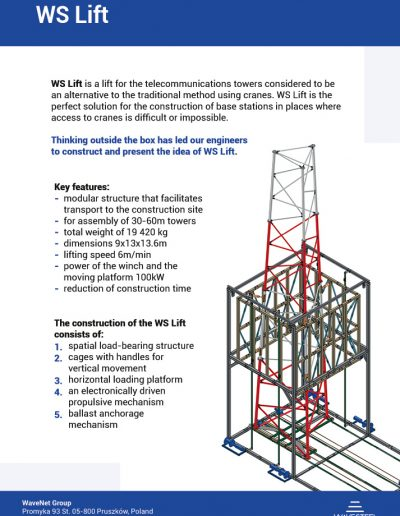 WS Lift by WaveSteel - page 1 | product card