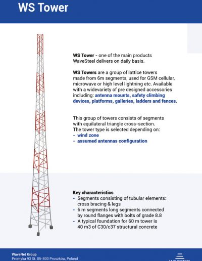 WS Tower by WaveSteel - page 1 | product card