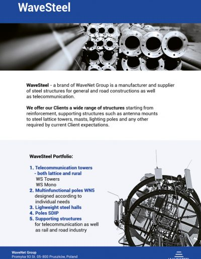 WaveSteel - page 1 | product card
